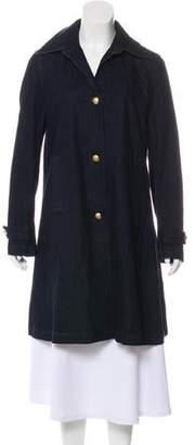 Ralph Lauren Denim Knee-Length Coat