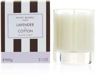Henri Bendel Lavender & Cotton 2.1 Oz Travel Candle