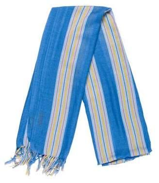 Tod's Cashmere & Silk-Blend Stripe Scarf