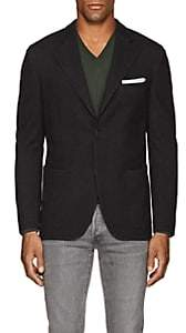 Boglioli Men's Casati Wool-Cotton Two-Button Sportcoat - Gray Pat.