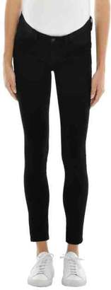 J Brand Mama J Mid-Rise Super Skinny in Seriously Black