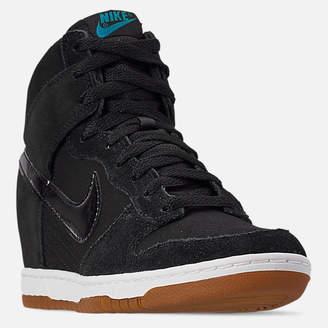 Nike Women s Dunk Sky High Essential Casual Shoes 000998447e