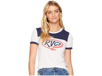 RVCA Looped Ringer T-Shirt