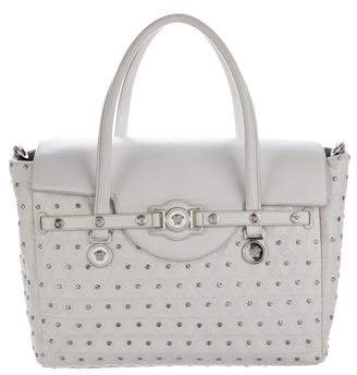 Versace Studded Sgnature Satchel