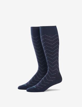 Tommy John Chevron Dot Stay-Up Dress Sock
