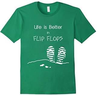 Life is better in Flip Flops T-Shirt | Summer