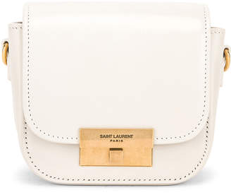Saint Laurent Mini Betty Satchel Bag in Blanc Vintage | FWRD
