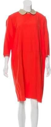 Hache Knee-Length Shift Dress