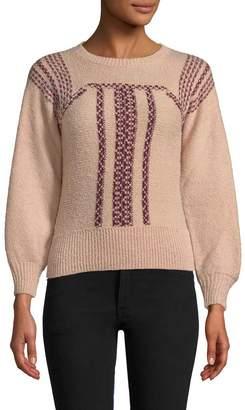Antik Batik Women's Jyla Embroidery Sweater