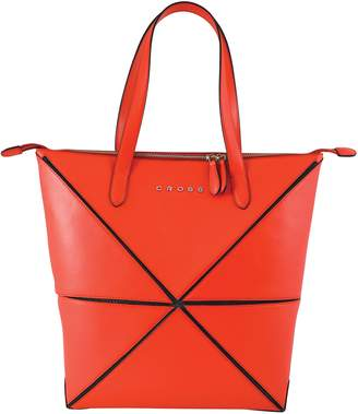 Cross Women's Genuine Leather Collapsible Hand Bag - Origami - AC751301N-8