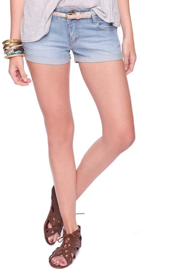 Heritage 1981 Belted Denim Shorts