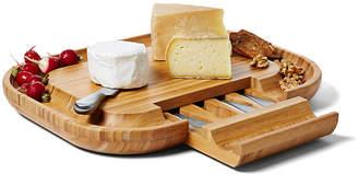 One Kings Lane Malvern Deluxe Cheese Board Set - Bamboo