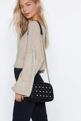 Nasty Gal WANT Mother of Pearl Crossbody Bag