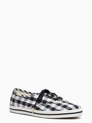 Kate Spade Keds x gingham champion sneakers
