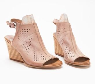 Miz Mooz Leather Ankle-Strap Sandals - Kensley
