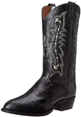 Tony Lama Boots Men's Lizard Cz810