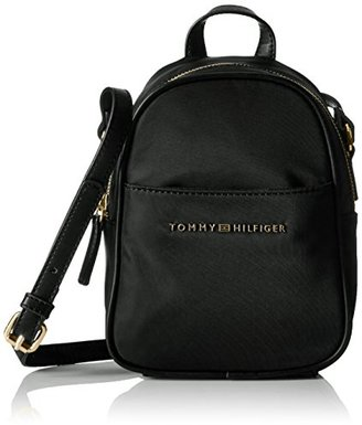Tommy Hilfiger Juliette Nylon Backpack Crossbody $66 thestylecure.com
