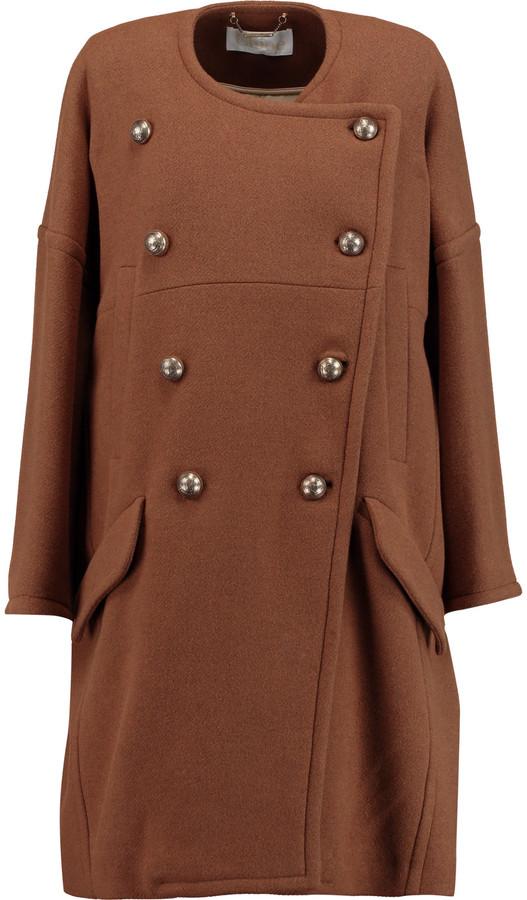 Chloé Chloé Wool-blend coat