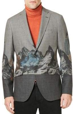 Etro Mountain Wool Sportcoat