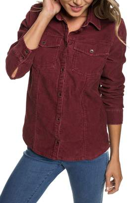 Roxy The Edge Of Wildness Corduroy Shirt
