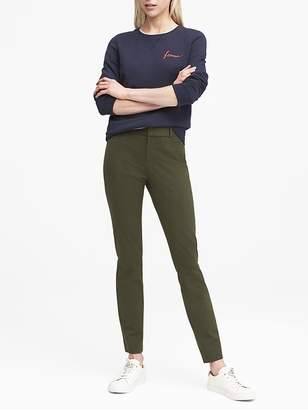 Banana Republic Sloan Skinny-Fit Brushed Bi-Stretch Ankle Pant