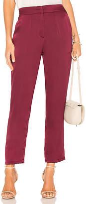 Krisa Smocked Back Trouser Pant