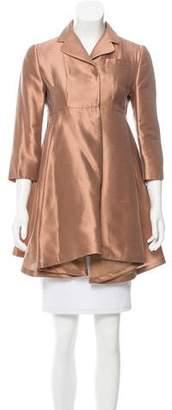 Miu Miu Silk-Blend Evening Jacket