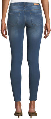 Articles of Society Sarah Faded Cropped Skinny Jeans