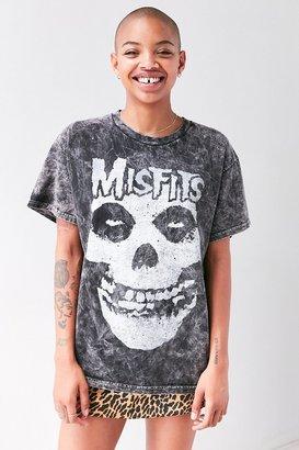 Misfits Acid Wash Skull Tee $29 thestylecure.com