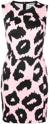 Versus animal print fitted dress
