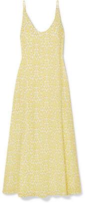Eywasouls Malibu Jane Printed Cotton-voile Maxi Dress