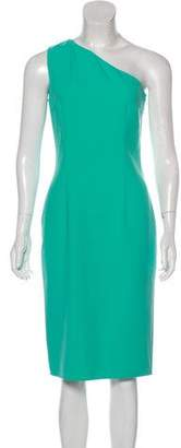 Michael Kors Asymmetrical Midi Dress