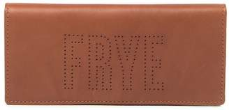 Frye Carson Perforated Logo Bi-Fold Leather Wallet