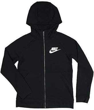 Nike Girl's Full Zip Sportswear Jacket 839473 010 (s)