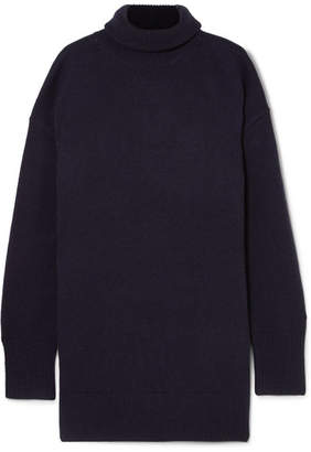 Joseph Wool Turtleneck Sweater - Navy