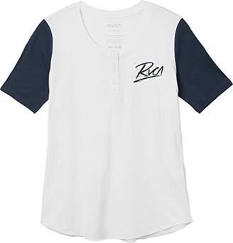 RVCA Junior's Scribe Baseball T-Shirt