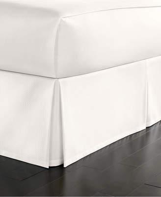 Martha Stewart Collection Full Cotton Pique Bedskirt