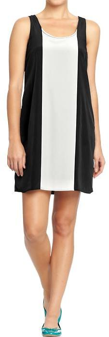 Old Navy Women's Color-Blocked Crepe Dresses