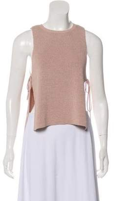 Intermix Sleeveless Knit Top