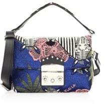 Furla Metropolis Nuvola Embroidered Mini Bag
