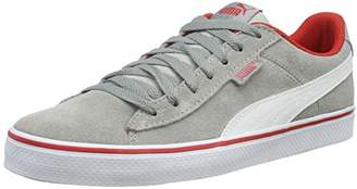 ab2dc44b028 ... Puma Unisex Kids  1948 Vulc Low-Top Sneakers Grey Size