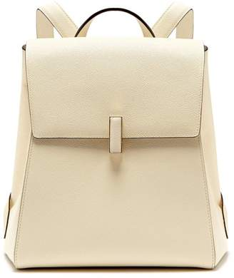 Valextra Iside saffiano-leather backpack