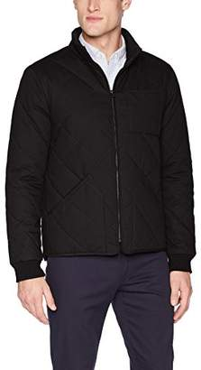 Dockers The r Coated Cotton Diamond Quilted Jacket