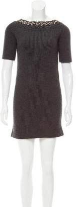 Chloé Wool Sweater Dress
