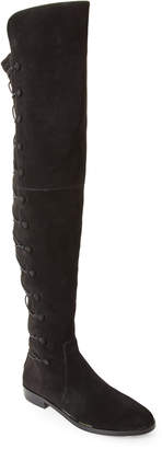 Vince Camuto Black Coatia Over-the-Knee Boots