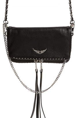 Zadig & Voltaire Rock Nano Leather Crossbody Bag