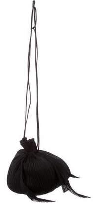 Pleats Please Issey Miyake Drawstring Shoulder Bag