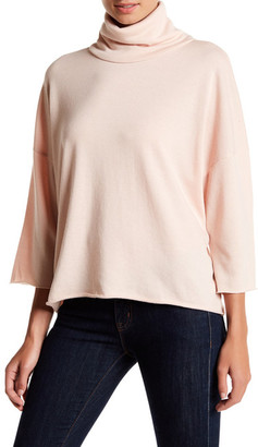 Ten Sixty Sherman 3/4 Sleeve Cropped Sweater $42 thestylecure.com