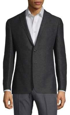 John Varvatos Slim-Fit Jacquard Jacket