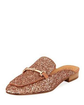Tory Burch Amelia Glitter Loafer Mule